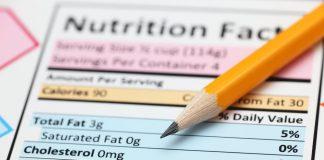 nutrition label healthy