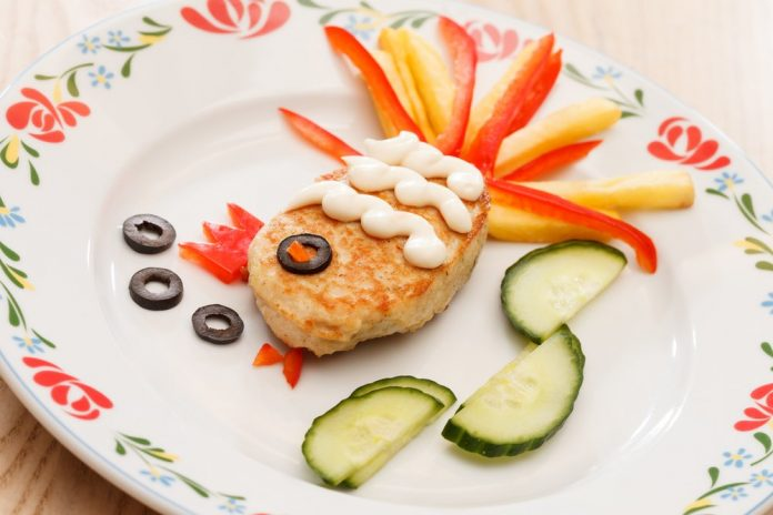 Fish for kids in a fun shape