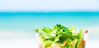salad healthy eating vacation