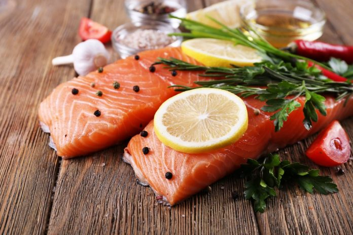 Healthy fish fillets to boost metabolism