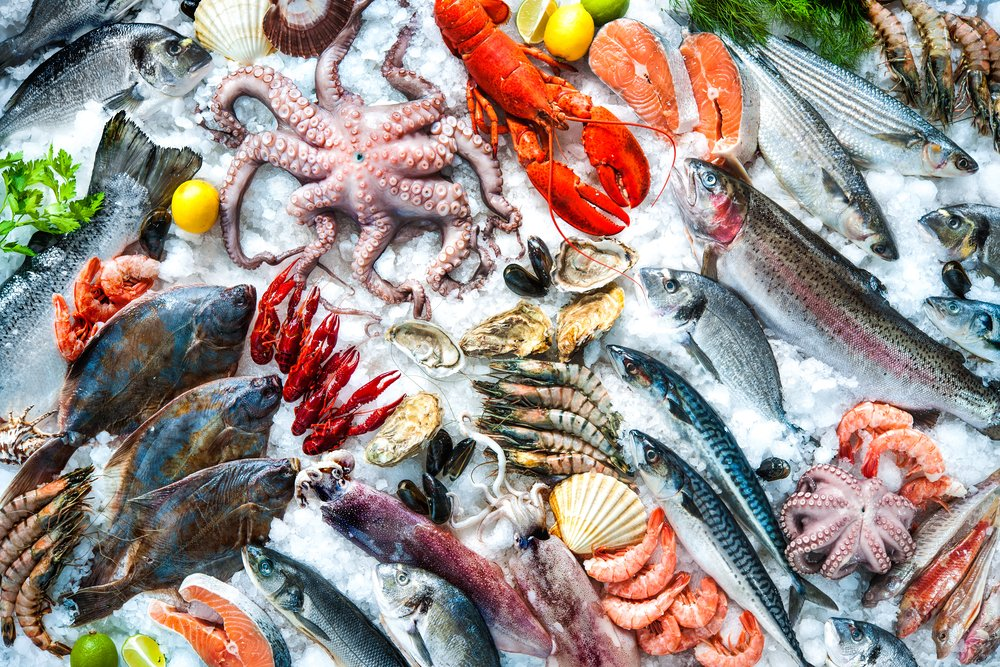 Meal planning try this seafood challenge the healthy fish for Fish and seafood