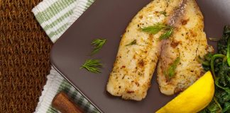 Tilapia Filet for Lean Protein Challenge