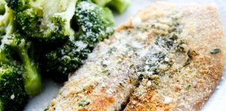Baked Tilapia recipe for one