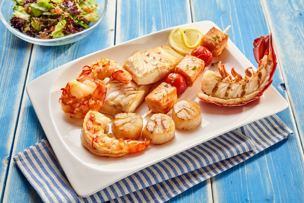 The long term effects of a seafood based diet the for Healthiest fish to eat 2017