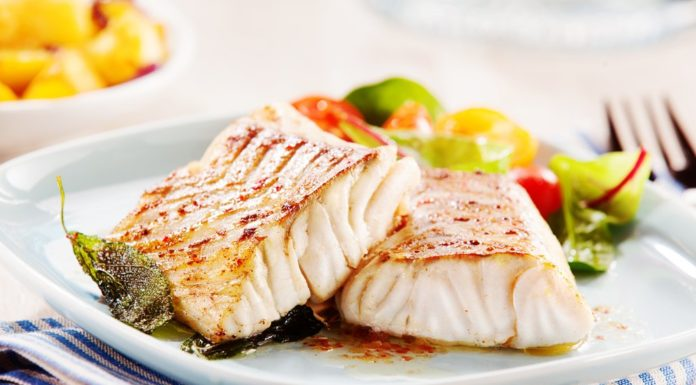Healthy international tilapia recipe