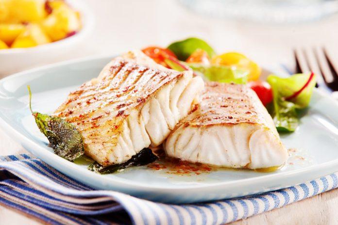 Healthy international tilapia recipe