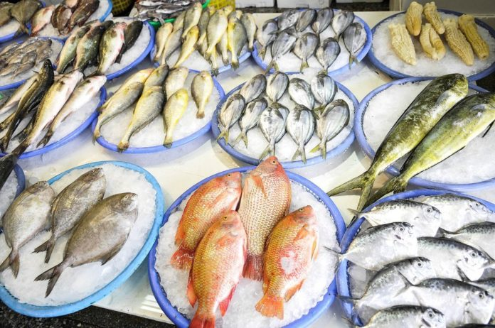 sustainable seafood landlocked