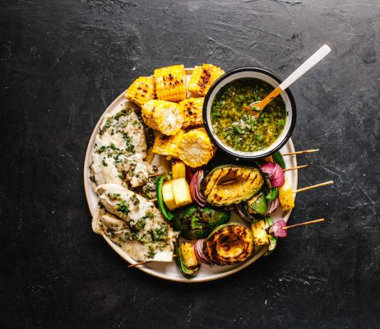 Chimichurri Grilled Tilapia