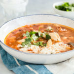 Bowl of Tilapia Posole