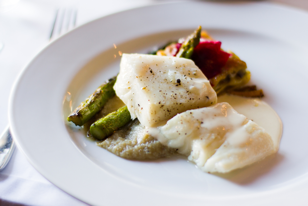 Slow cooked Tilapia dish
